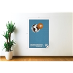 1962 FIFA World Cup Chile Poster Wall Decal