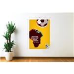 2010 FIFA World Cup South Africa Poster Wall Decal