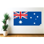 Australia Flag Wall Decal