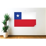 Chile Bandera Calcomania de Pared