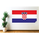 Croatia Flag Wall Decal