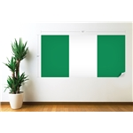 Nigeria Flag Wall Decal