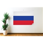 Russia Flag Wall Decal
