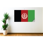Afghanistan Flag Wall Decal