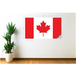 Canada Flag Wall Decal