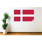 Denmark Flag Wall Decal