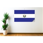 El Salvador Flag Wall Decal