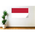 Indonesia Flag Wall Decal
