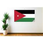 Jordania Bandera Calcomania de Pared