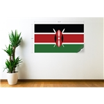 Kenya Flag Wall Decal