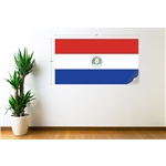 Paraguay Bandera Calcomania de Pared