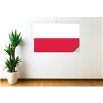 Poland Flag Wall Decal