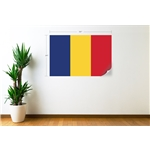 Romania Flag Wall Decal