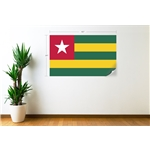Togo Flag Wall Decal