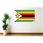 Zimbabwe Flag Wall Decal