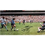Icons Diego Maradona Signed Goal of the Century Print