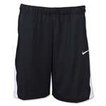 Nike Women's Coach Pocket Short 14 (Black/White)