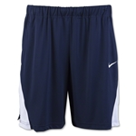 Nike Women's Coach Pocket Short 14 (Navy/White)