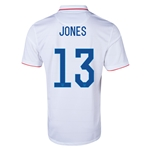 USA 14/15 JONES Home Soccer Jersey