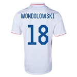 USA 14/15 WONDOLOWSKI Home Soccer Jersey