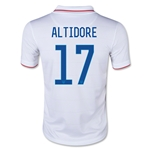 USA 14/15 ALTIDORE Youth Home Soccer Jersey