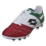 Lotto Stadio Potenza IV 100 FG (White/Green/Red)