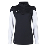 Nike Women's Long Sleeve Squad 14 Midlayer (Black)