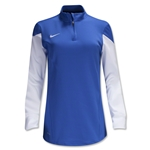 Nike Women's Long Sleeve Squad 14 Midlayer (Royal)