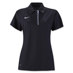 Nike Women's Dedication Polo (Black)
