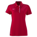Nike Women's Dedication Polo (Red)