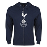 Tottenham Full Zip Hooded Fleece (Navy)