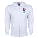 UEFA Euro 2016 Core Hoody Jacket (White)