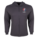 UEFA Euro 2016 Core Hoody Jacket (Dark Grey)