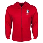 UEFA Euro 2016 Core Hoody Jacket (Red)