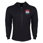 Croatia Euro 2016 Fashion Hoody Jacket (Black)