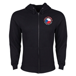 Czech Republic Euro 2016 Fashion Hoody Jacket (Black)