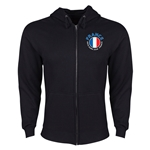 France Euro 2016 Fashion Hoody Jacket (Black)