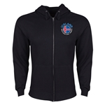Iceland Euro 2016 Fashion Hoody Jacket (Black)