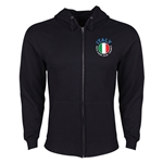 Italy Euro 2016 Fashion Hoody Jacket (Black)