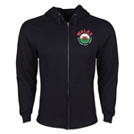 Wales Euro 2016 Fashion Hoody Jacket (Black)