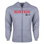 Austria Euro 2016 Core Hoody Jacket (Grey)