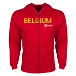 Belgium Euro 2016 Core Hoody Jacket (Red)
