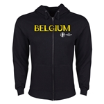 Belgium Euro 2016 Core Hoody Jacket (Black)