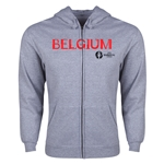 Belgium Euro 2016 Core Hoody Jacket (Grey)
