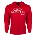 Czech Republic Euro 2016 Core Hoody Jacket (Red)