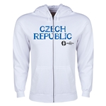 Czech Republic Euro 2016 Core Hoody Jacket (White)