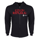 Czech Republic Euro 2016 Core Hoody Jacket (Black)