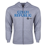 Czech Republic Euro 2016 Core Hoody Jacket (Grey)
