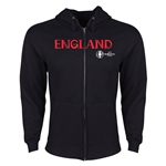 England Euro 2016 Core Hoody Jacket (Black)
