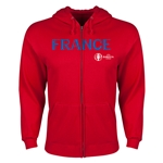 France Euro 2016 Core Hoody Jacket (Red)